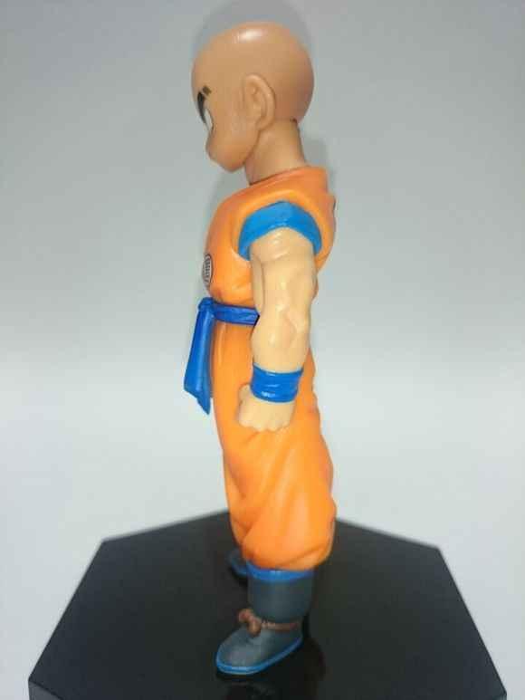 Dragon Ball Z Krillin estilo de pie figura de acción DBZ Goku amigo juguetes de modelos de colección 11cm