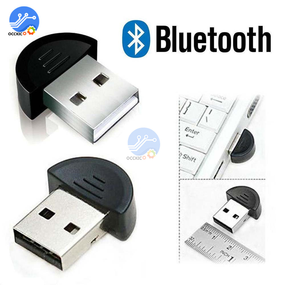 Wireless USB Bluetooth Dongle Adapter 2.0 For PC Computer Speaker Mouse Aux Audio Receiver Transmitter