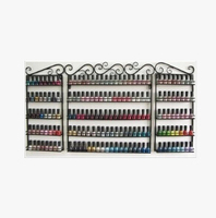 Perfume nail polish display rack wrought iron wall display cabinet shelf cosmetic goods Specials