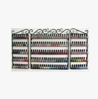 Perfume nail polish display rack wrought iron wall display cabinet shelf cosmetic goods Specials