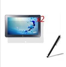 3in1 2x Clear LCD Screen Protector Filme Film Guards + 1x Stylus Für Samsung ATIV Smart PC 500T1C-A01CN XE500T Pro 700T1C XE700T