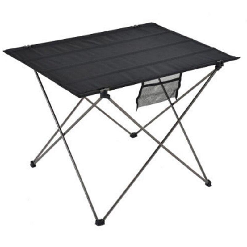 Table pliante Portable pliable bureau Camping pique-nique en plein air en alliage d'aluminium table à manger extérieure ultra-légère - 3