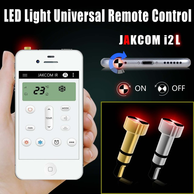 Jakcom Smart Remote Cell Phone Accessories Smart Home Replace Appliances infrared remote control  i2L for iPhone i2A for Android