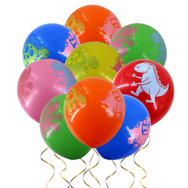 Dinosaurs Printed Latex Ballon Set 15 Pcs