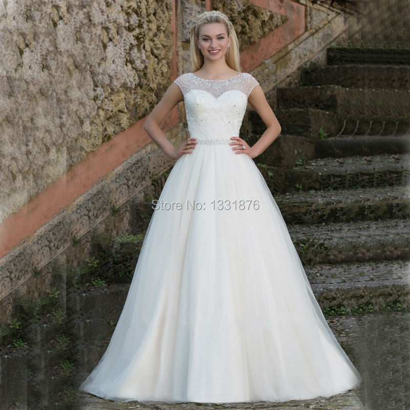Cheap modest wedding dresses dress yp for Inexpensive modest wedding dresses