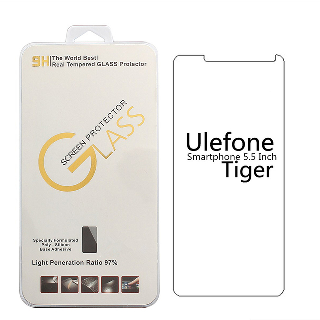 For Ulefone Tiger /Vienna /Future Tempered Glass 9H 2.5D High Quality Protective Film for ulefone  smarphone