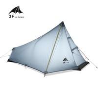 3F UL GEAR 1 Man Best Camping Tent Ultralight None Pole Waterproof Single Person Outdoor Hiking