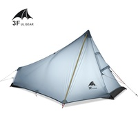 3F UL GEAR 1 Man Best Camping Tent Ultralight None Pole Waterproof Single Person Outdoor Hiking