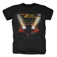 Free shipping ZZ Top Houston Texas American Blues Rock Roll Band Black 100% cotton new T Shirt