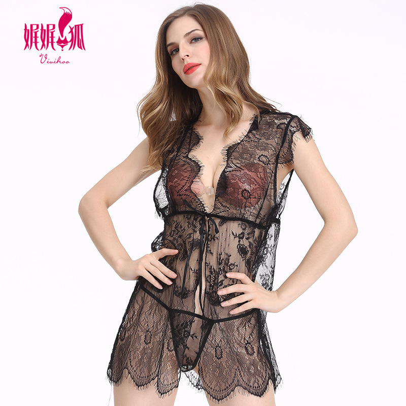Hot Sexy Lingerie Women Dress Nightgown Sexy Lingerie Sexy Underwear Ladies Lace