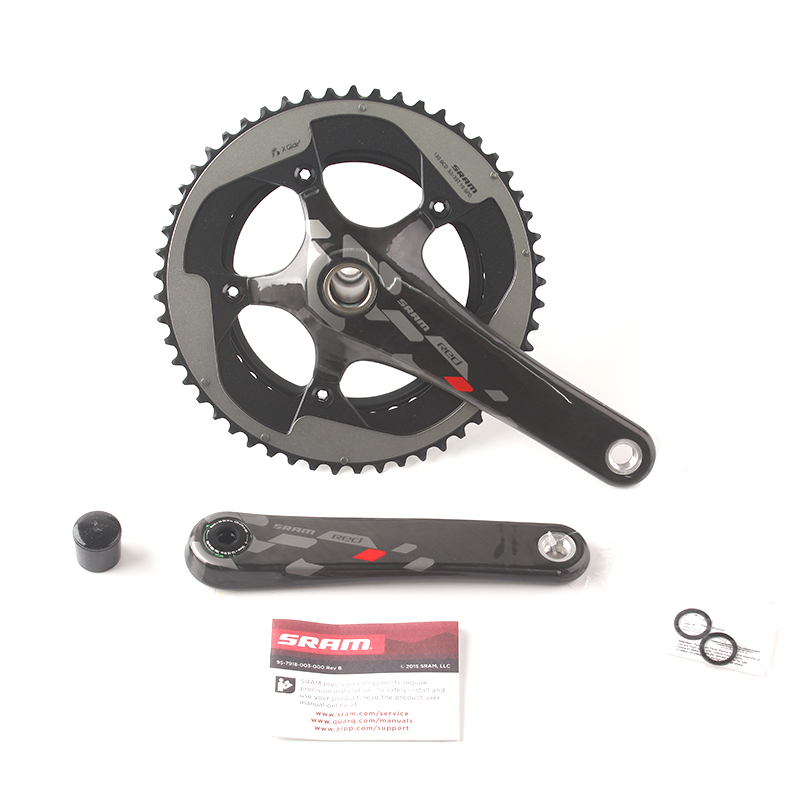 SRAM RED 10S Speed Road Bicycle Crankset Carbon Leg 53x39T 177.5mm GXP sram xx1 x9 xo gxp bb30