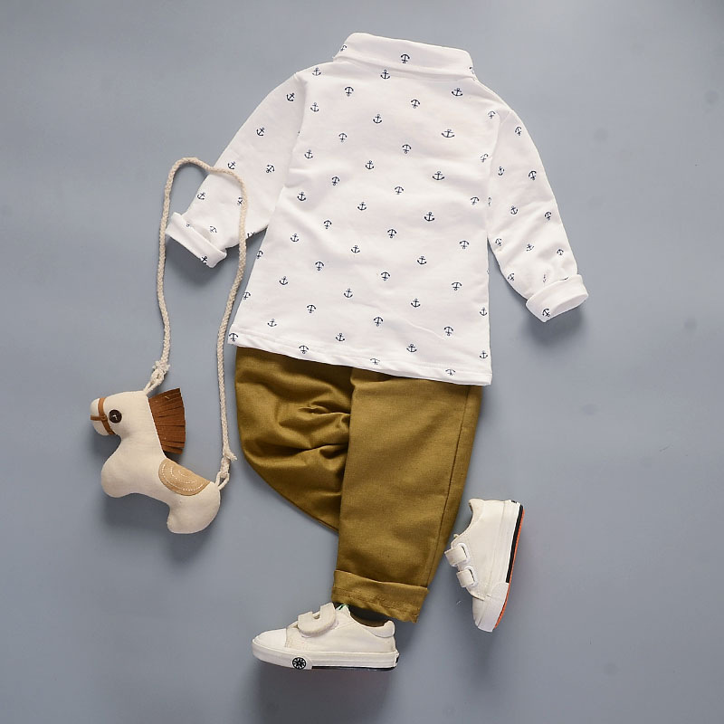 7e0d8f3f90c9 2018 Autumn New Clothing Sets Boy Cotton Casual Children s Wear Baby ...