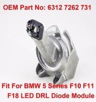 F10 F11 LCI Daytime Driving Angel Eyes Light DRL LED Maker Module OEM Part Number 63127262731 Fits For BMW 5 Series F10 F11 F18