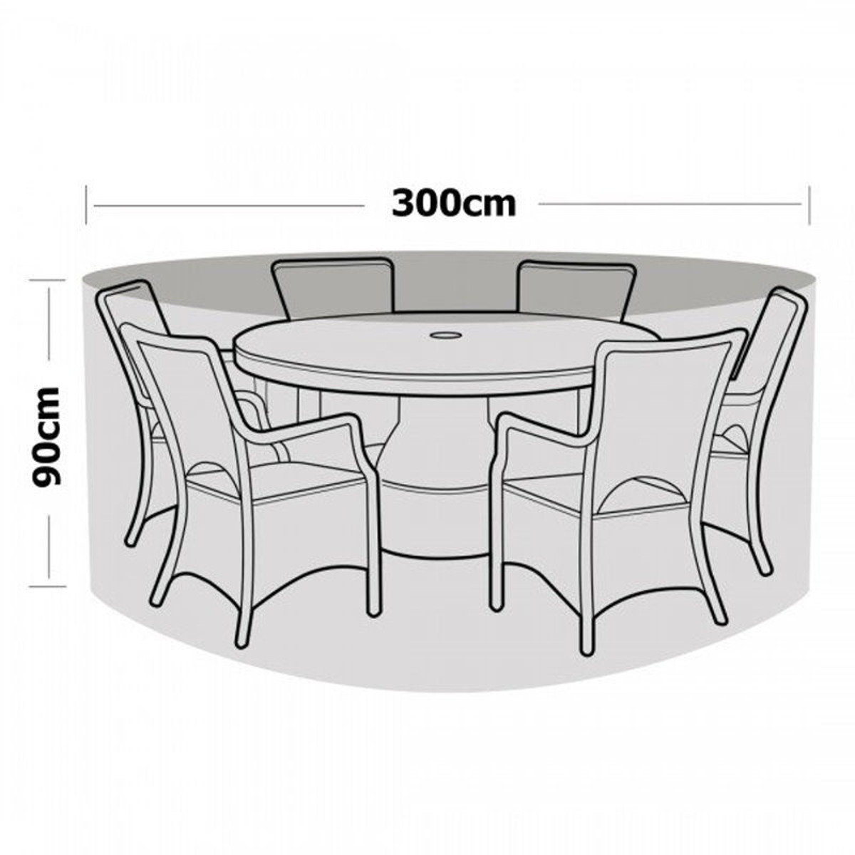 Waterproof table runner outdoor patio round chair cover polyester table cover furniture protection cover textiles 300x90cm in tablecloths from home garden