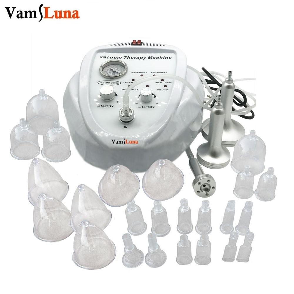 VamsLuna Thérapie De Massage Sous Vide Machine Élargissement Pompe De Levage Du Sein Enhancer Massager Coupe Et Modelage Du Corps Beauté Dispositif