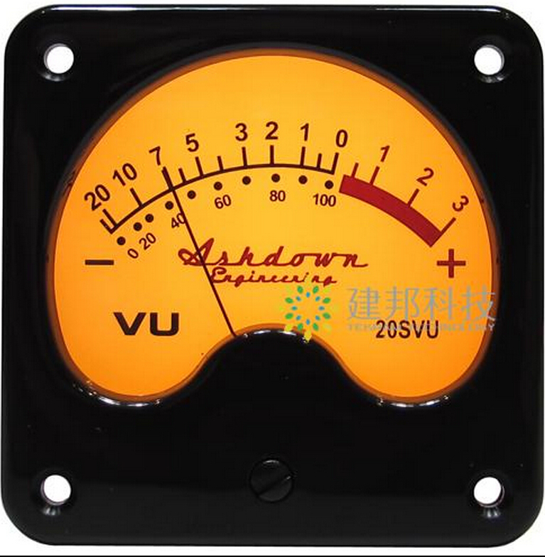 ФОТО Original Power Amplifier VU meter DB level Header With backlight for UK Ashdown
