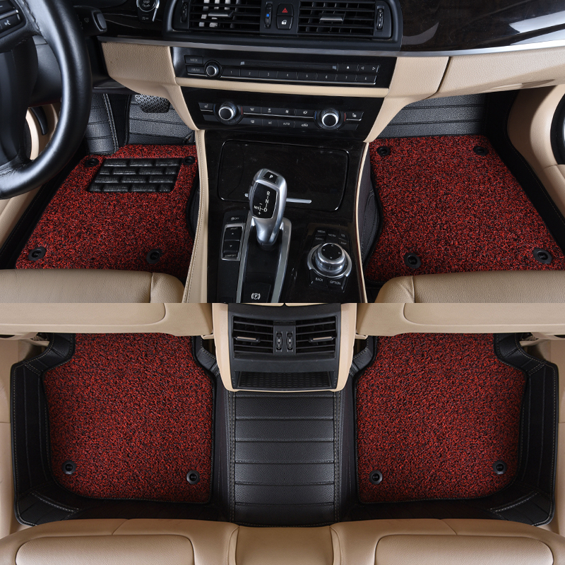 Custom Fit Car Floor Mats For Toyota Camry 40 Corolla RAV4 Verso FJ Land Cruiser LC 200 Prado  3D car-styling carpet