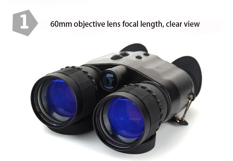 mais reforçado tubo binocular low-luz de visão