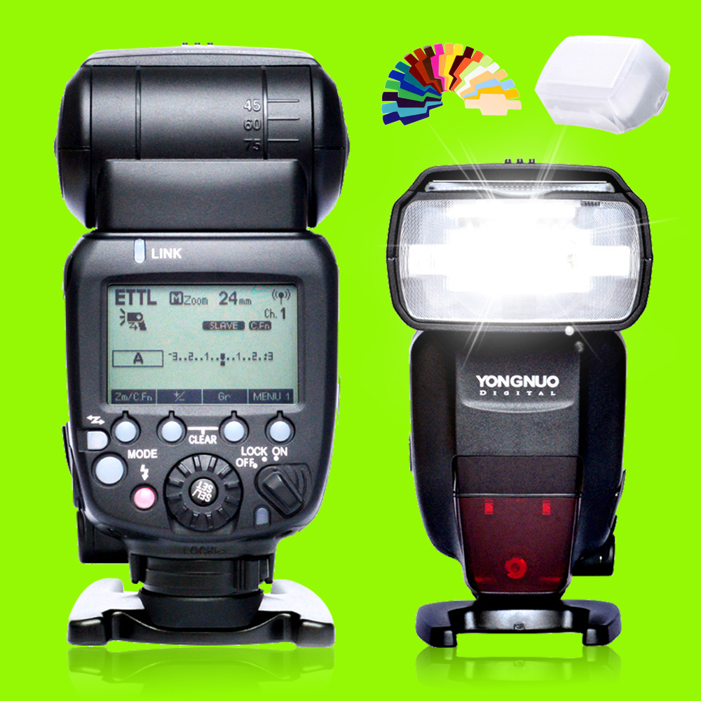 YONGNUO YN600EX-RT II 2.4G Wireless HSS 1/8000s Master TTL Flash Speedlite for Canon Camera as 600EX-RT YN560III YN560IV JY680A yongnuo yn968ex rt ttl wireless flash speedlite with led light compatible with yn e3 rt yn600ex rt for canon 600ex rt st e3 rt