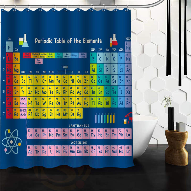 How shower curtain periodic table canada periodic table of how shower curtain periodic table canada online buy wholesale shower curtains periodic from china shower urtaz Choice Image