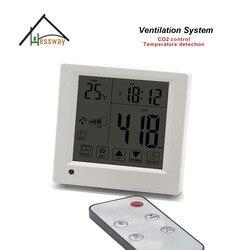 A distanza di controllo Equivalente co2 regolatore del gas 3 velocità del ventilatore per ufficio, sala conferenze