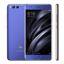 "Original Xiaomi Mi 6 Mi6 4GB RAM 64GB ROM Mobile Phone Snapdragon 835 Octa Core 5.15"" 12MP Dual Camera Four Side Curved Body(Hong Kong,China)"