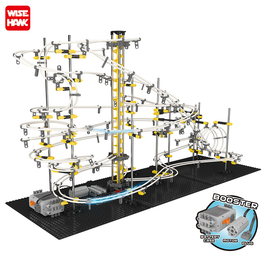 New Model Building Kit Funny Parts Space Rail Roller Coaster Toys SpaceRail Level 1 2 3 4 DIY Spacewarp Erector Set 5500mm Sport