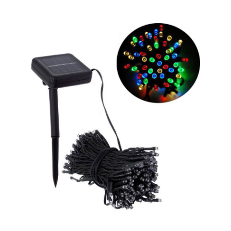 Waterproof LED Solar String Light 7M 12M 22M Solar Fairy String Light Outdoor Garden Wedding Decoration Christmas Holiday