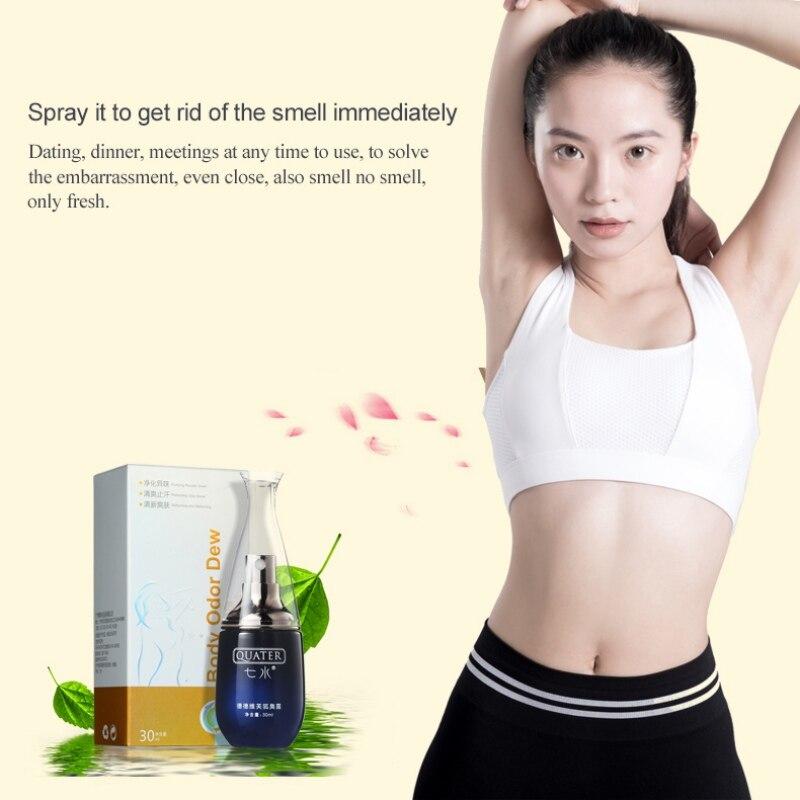 Underarm Deodorant Spray Reduce Sweat Odor Antiperspirant Liquid Spray For Men Women