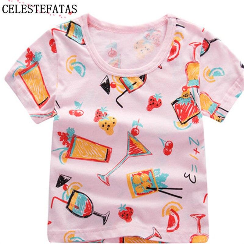 girls t shirt kids T-shirt for boys clothes tops kids for children tshirt child short sleeves 1pcs/lot C-CN005-1P