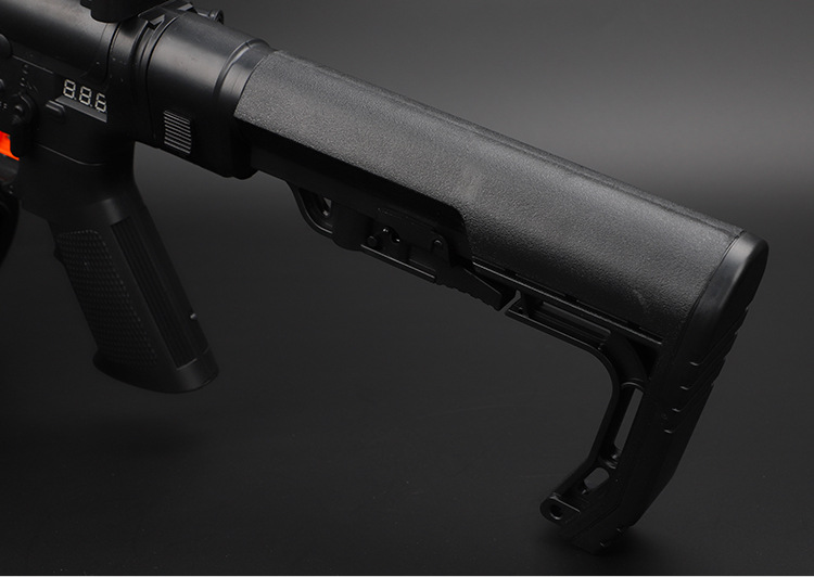 Image 5 - Tactical CS0911 Extensible Back Stock Parts Airsoft Hunting Gel Water Bomb Adjustable Toy Gun Rear Butt Accessories-in Hunting Gun Accessories from Sports & Entertainment