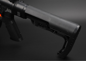 Image 5 - Tactical CS0911 Extensible Back Stock Parts Airsoft Hunting Gel Water Bomb Adjustable Toy Gun Rear Butt Accessories
