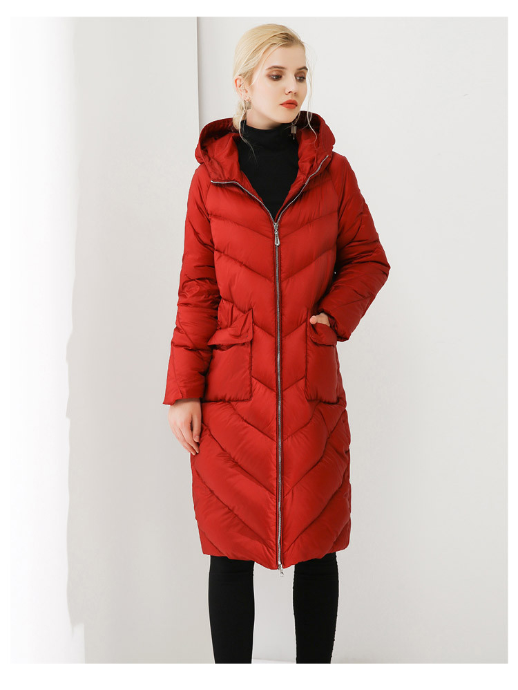 Duck   Down     Coat   Winter Women   Coat   Slim   Down   Jacket With High Quality   Down