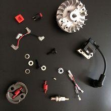 Свеча зажигания+ катушка зажигания+ стоп-переключатель двигателя+ маховик+ Сцепление 800 об/мин для Zenoah CY ROVAN KM двигатель подходит для 1:5 HPI гоночный автомобиль