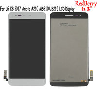 Redberry Black For LG Aristo K8 2017 M210 MS210 US215 M200N LCD Display Touch Screen Digitizer