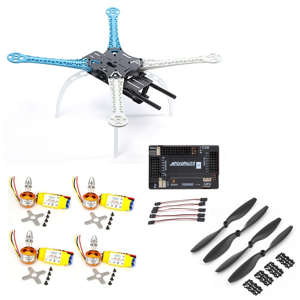 Радиоуправляемых Автомобилей HSP Модель S500 Quadcopter Кадров Вт/ В Apm2.6 контроллер полета команда xxd 2212 30А