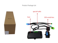 PLUSOBD пульт дистанционного управления автомобиля Стартерный двигатель Дистанционное включение выключение для Benz w166 2013 Plug And Play без заводско