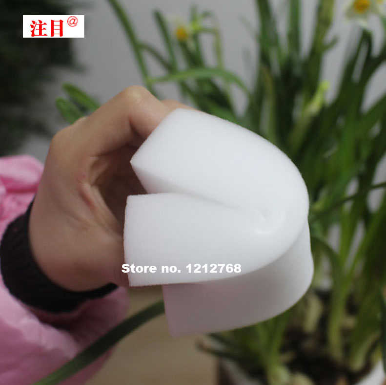 Magic Cleaning Melamine Spons 110*70*40 Mm Schoonmaak Gum Multifunctionele Sponge Big Size 10 Pcs wit