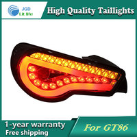 Car Styling Tail Lamp For Toyota GT86 FT86 Taillights Tail Lights LED Rear Lamp LED DRL