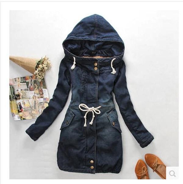 Aliexpress.com : Buy New Arrival Jeans Jacket Women Long Section ...