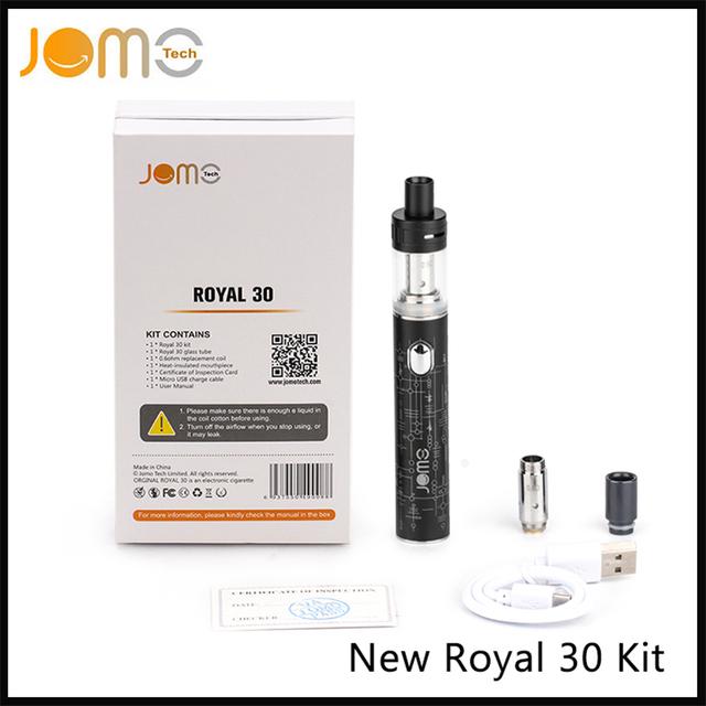 Original jomotech pluma cigarrillo electrónico mod vape mod e-cigarrillo tanque bobina kits con batería vaper vs istick jomo-199