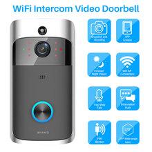 Video Doorbell WiFi Video Intercom Phone Door Bell WIFI Doorbell Camera For Apartments IR Alarm Wireless Home Security IP Camera cheap Video Photograph Dry battery Color SDB-M4B