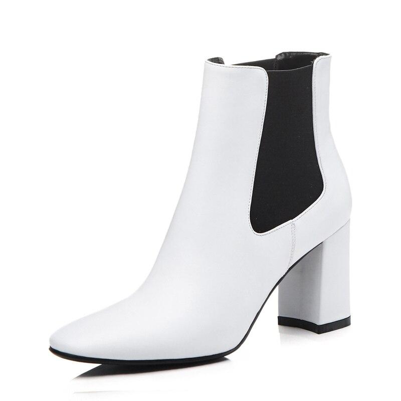 blanco Cuero 100 Botas Negro Sklfcxzy Las Nueva Calidad Chica Zapatos Tacón Moda plata Mujeres Alta Alto De 6fpfwaxnq