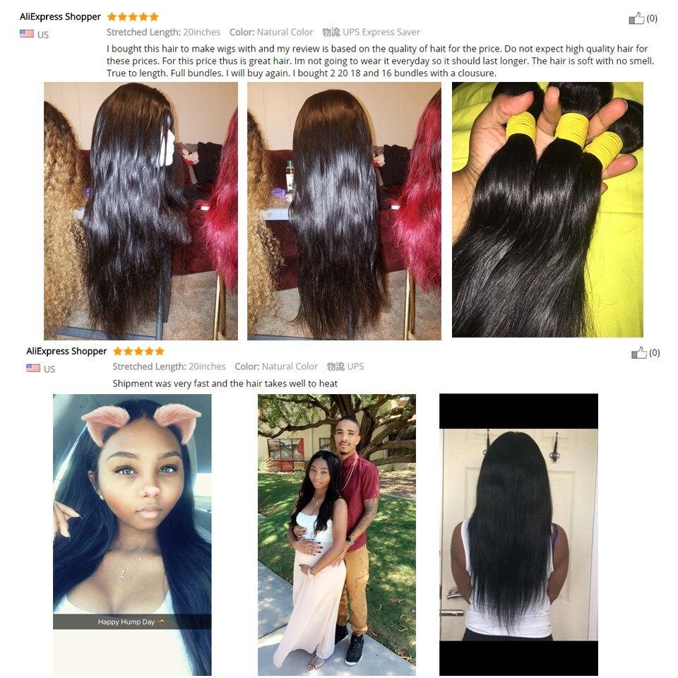 Aliexpress Buy Brazilian Straight Hair Weave Bundles 100