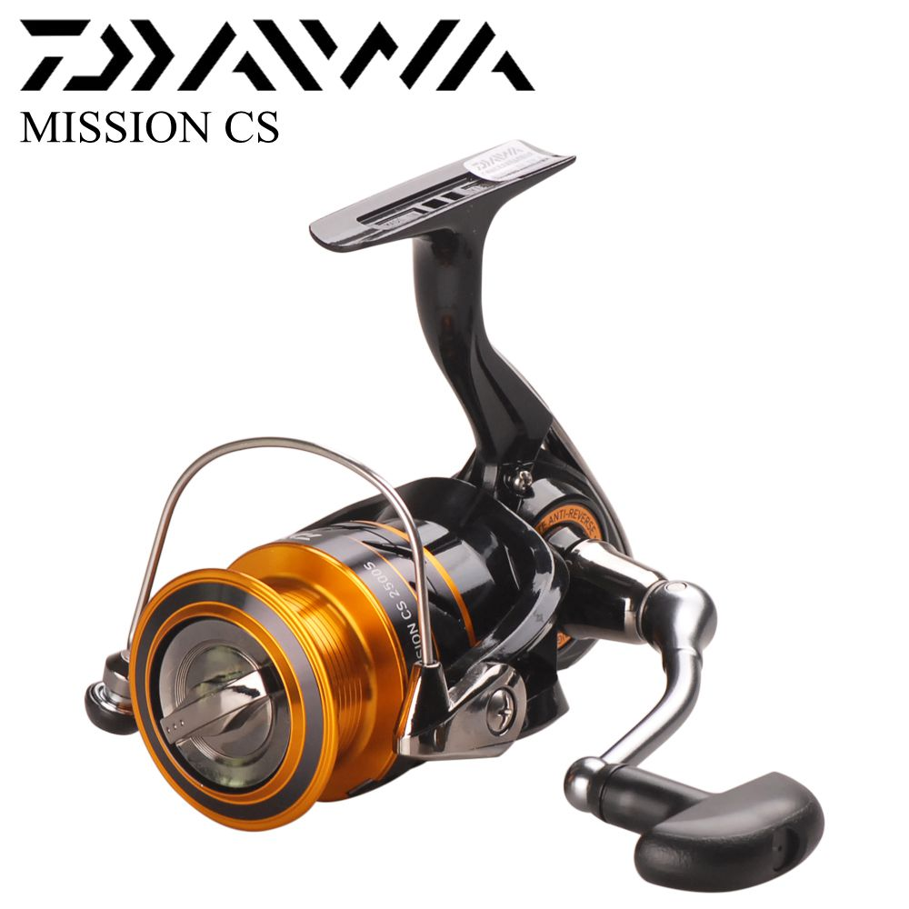 DAIWA Mission CS 2000S 2500S 3000S 4000S Spinning Fishing Reel 4BB Saltwater Bass Carp Feeder Front