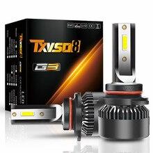 2 xCar Headlight Bulbs  H4/H7/H1/H8/H9/H11/9012/9006/9005 LED Headlight Bulbs High Power Beam White LED Lamps For Cars
