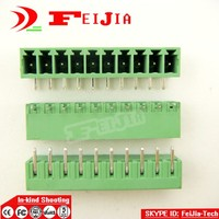 50pcs Lot 15EDG 10P Bend Pin PCB Screw Terminal Block Connector 3 5mm Pitch 10