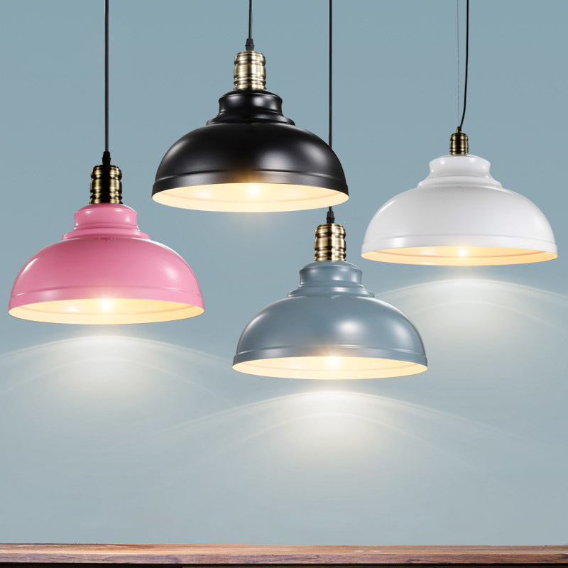 2017 Industrial retro style Art Pendant Lights Vintage Hanging Lampshade Lighting Restaurant /Bar/Coffee Shop Lamps luminaries tiffnay beautiful retro bar entrance lamps club pendant lights western style food restaurant art mosaic glass pendants df136