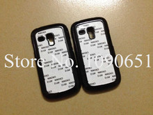 2D Sublimation case For Samsung galaxy S3 mini 9300 PC blank cover 20pcs/Lot