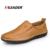 Las ventas de Los Hombres Al Aire Libre Casual Zapatos Mocasines Cómodos Aleader hombres de la Marca Classic Slip On Flat Zapatos de Cuero de Los Hombres Oxfords sapatos